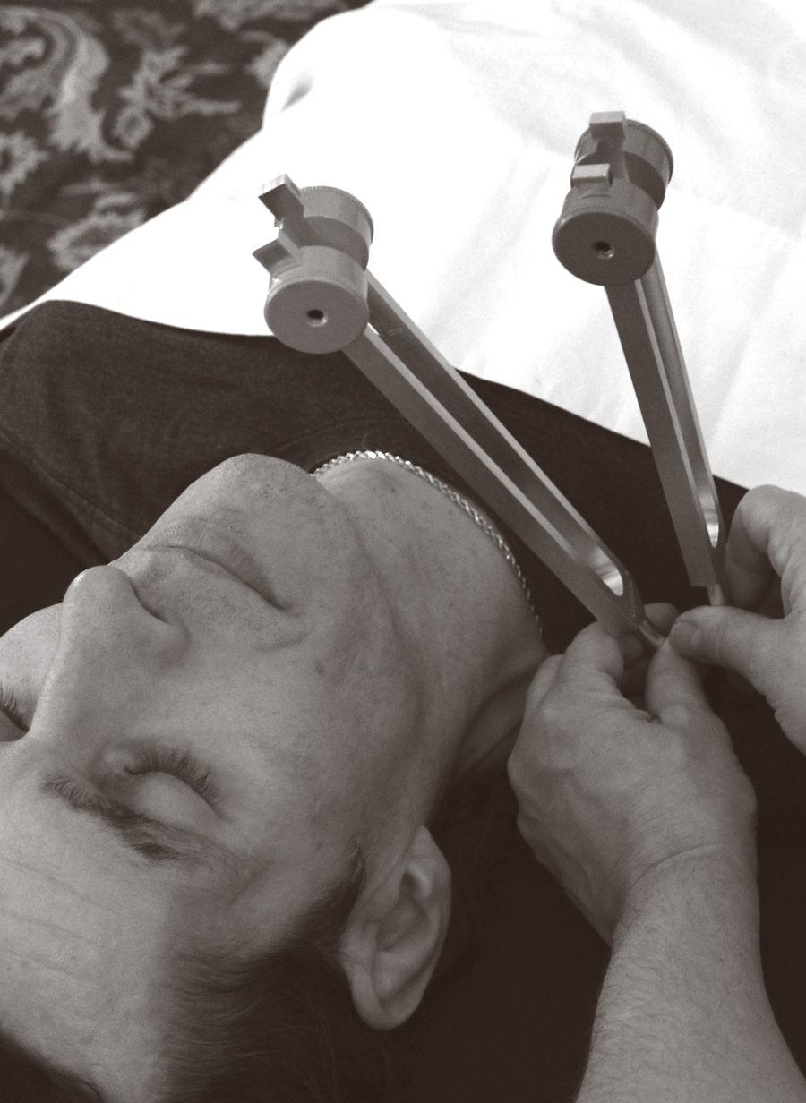 Acutonics tuning forks